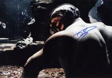 Tom Hardy signed 12x18 Dark Knight photo! Bane! Inception! Revenant! PSA COA