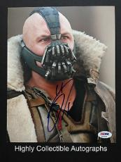 Tom Hardy Signed 8x10 Photo Autograph Psa Dna Coa The Dark Knight Rises Bane