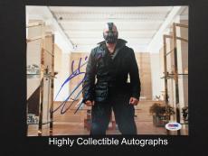 Tom Hardy Signed 8x10 Photo Autograph Psa Dna Coa The Dark Knight Rises Bane