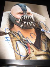 TOM HARDY SIGNED AUTOGRAPH 8x10 PHOTO BATMAN DARK KNIGHT RISES PROMO COA AUTO X8