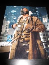 TOM HARDY SIGNED AUTOGRAPH 8x10 PHOTO DARK KNIGHT RISES BALE PROOF IN PERSON B