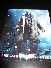 TOM HARDY SIGNED AUTOGRAPH 8x10 PHOTO DARK KNIGHT RISES BALE PROOF IN PERSON H