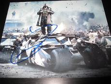 TOM HARDY SIGNED AUTOGRAPH 8x10 PHOTO DARK KNIGHT RISES PROMO COA AUTO RARE D