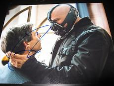 TOM HARDY SIGNED AUTOGRAPH 8x10 PHOTO DARK KNIGHT RISES PROMO COA AUTO RARE E