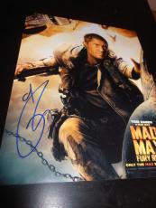 TOM HARDY SIGNED AUTOGRAPH 8x10 PHOTO MAD MAX PROMO COA AUTO RARE IN PERSON NY D