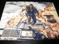 TOM HARDY SIGNED AUTOGRAPH 8x10 PHOTO MAD MAX PROMO IN PERSON COA AUTO NY D