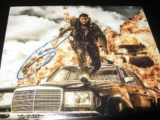 TOM HARDY SIGNED AUTOGRAPH 8x10 PHOTO MAD MAX PROMO IN PERSON COA AUTO RARE D