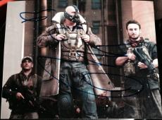 "Tom Hardy Signed Autograph ""dark Knight Rises"" Bane Classic Intense Photo Coa"
