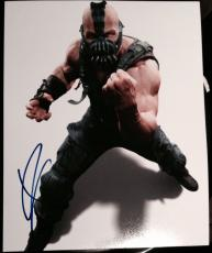"Tom Hardy Signed Autograph ""dark Knight Rises"" Bane Poster Promo Photo Coa"