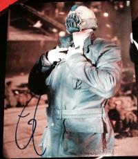 "Tom Hardy Signed Autograph ""dark Knight Rises"" Bane Rare Image Photo Coa"