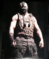 "Tom Hardy Signed Autograph ""dark Knight Rises"" Bane Vest Pose Photo Coa"