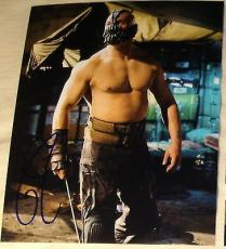 "Tom Hardy Signed Autograph ""dark Knight Rises"" No Shirt Intense Bane Photo Coa"