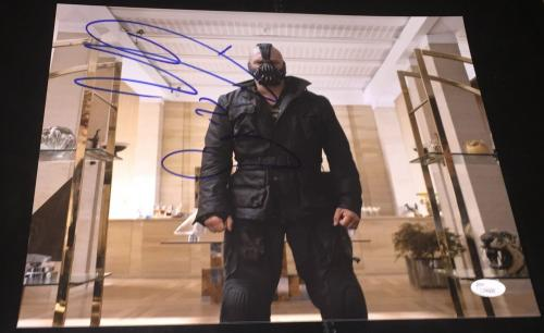 Tom Hardy Signed Autograph Full Name Dark Knight Rises 11x14  Photo Jsa L74005