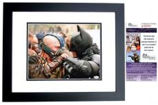 Tom Hardy Signed - Autographed BANE - Batman 11x14 Photo BLACK CUSTOM FRAME - The Dark Knight Rises - JSA Certificate of Authenticity