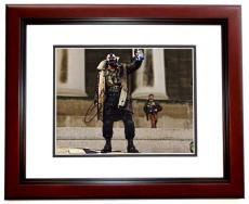 Tom Hardy Signed - Autographed BANE - Batman 11x14 Photo MAHOGANY CUSTOM FRAME - The Dark Knight Rises