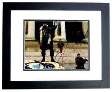 Tom Hardy Signed - Autographed BANE - Batman - The Dark Knight Rises 11x14 inch Photo BLACK CUSTOM FRAME - Guaranteed to pass PSA or JSA