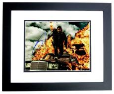 Tom Hardy Signed - Autographed Mad Max: Fury Road 11x14 inch Photo BLACK CUSTOM FRAME - Guaranteed to pass PSA or JSA