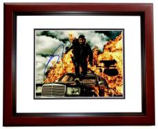 Tom Hardy Signed - Autographed Mad Max: Fury Road 11x14 inch Photo MAHOGANY CUSTOM FRAME - Guaranteed to pass PSA or JSA