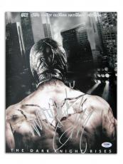 Tom Hardy Signed Batman Dark Knight Authentic 11x14 Photo PSA/DNA #S23163
