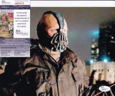 Tom Hardy signed Batman *The Dark Knight Rises* 8X10 BANE JSA Authentic M84223