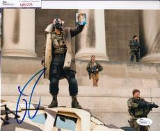 Tom Hardy signed Batman *The Dark Knight Rises* 8X10 BANE JSA Authentic M84225