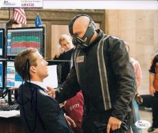 Tom Hardy signed Batman *The Dark Knight Rises* 8X10 BANE JSA Authentic M84226