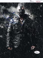 Tom Hardy signed Batman *The Dark Knight Rises* 8X10 BANE JSA Authentic M84228