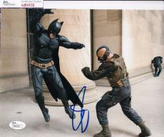 Tom Hardy signed Batman *The Dark Knight Rises* 8X10 BANE JSA Authentic M84232