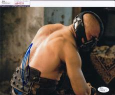 Tom Hardy signed Batman *The Dark Knight Rises* 8X10 BANE JSA Authentic M84233