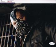 Tom Hardy signed Batman *The Dark Knight Rises* 8X10 BANE JSA Authentic M84234