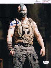 Tom Hardy signed Batman *The Dark Knight Rises* 8X10 BANE JSA Authentic M84235