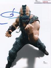 Tom Hardy signed Batman *The Dark Knight Rises* 8X10 BANE JSA Authentic M84236