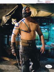 Tom Hardy signed Batman *The Dark Knight Rises* 8X10 BANE JSA Authentic M84237