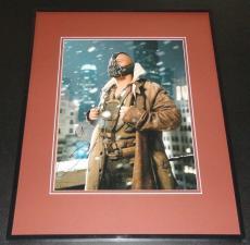 Tom Hardy Signed Framed 11x14 Photo Poster JSA Dark Knight Bane