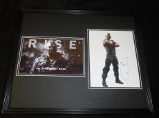 Tom Hardy Signed Framed 16x20 Photo Set JSA Dark Knight Bane