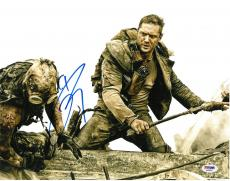 Tom Hardy Signed Mad Max Authentic Autographed 11x14 Photo PSA/DNA #AA68022