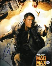 Tom Hardy Signed Mad Max Authentic Autographed 11x14 Photo PSA/DNA #AA68023