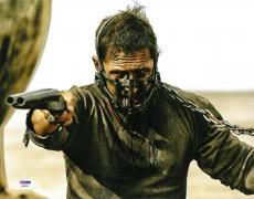 Tom Hardy Signed Mad Max Authentic Autographed 11x14 Photo PSA/DNA #AB89805