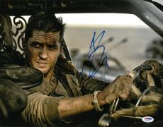 Tom Hardy Signed Mad Max Authentic Autographed 11x14 Photo PSA/DNA #AC45493