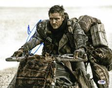 Tom Hardy Signed Mad Max Authentic Autographed 11x14 Photo PSA/DNA #AC45494