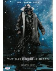 Tom Hardy Signed The Dark Knight Rises Autographed 11x14 Photo PSA/DNA #AC95190