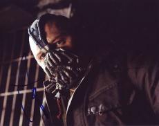 TOM HARDY signed *THE DARK KNIGHT RISES* BATMAN Bane 8X10 photo VILLAN W/COA #2