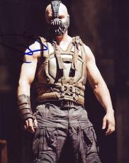 TOM HARDY signed *THE DARK KNIGHT RISES* BATMAN Bane 8X10 photo VILLAN W/COA #4