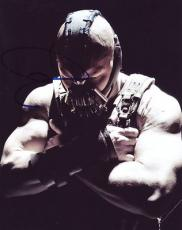 TOM HARDY signed *THE DARK KNIGHT RISES* BATMAN Bane 8X10 photo VILLAN W/COA #5