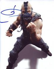 TOM HARDY signed *THE DARK KNIGHT RISES* BATMAN Bane 8X10 photo VILLAN W/COA #6