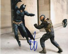 TOM HARDY signed *THE DARK KNIGHT RISES* BATMAN Bane 8X10 photo W/COA #10