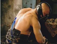 TOM HARDY signed *THE DARK KNIGHT RISES* BATMAN Bane 8X10 photo W/COA #12