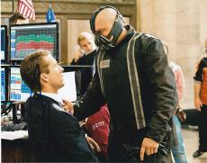 TOM HARDY signed *THE DARK KNIGHT RISES* BATMAN Bane 8X10 photo W/COA #2
