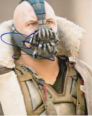 TOM HARDY signed *THE DARK KNIGHT RISES* BATMAN Bane 8X10 photo W/COA #4