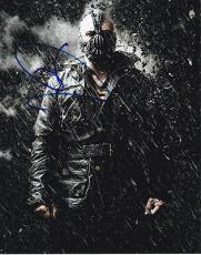 TOM HARDY signed *THE DARK KNIGHT RISES* BATMAN Bane 8X10 photo W/COA #5